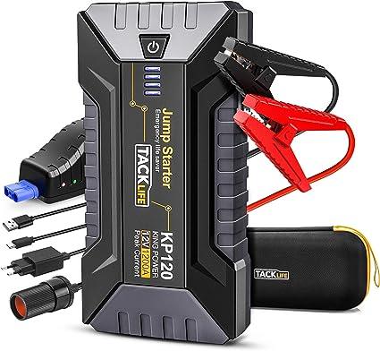 TACKLIFE 1200A Avviatore di Emergenza KP120, Jump Starter per