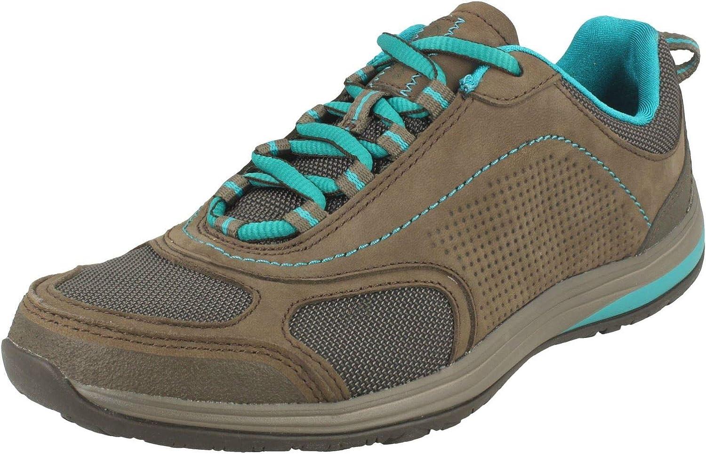 Clarks Inset Route Nubuck Shoes