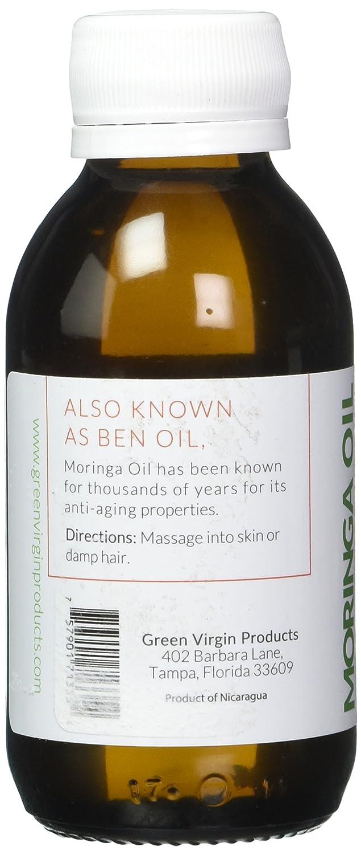 Moringa Oil, Cold Pressed 100 Pure, Food Grade