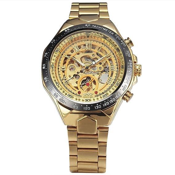 Winner marca de lujo relojes hombres pulsera Fashion Casual macho reloj deportivo automático para hombre mecánico