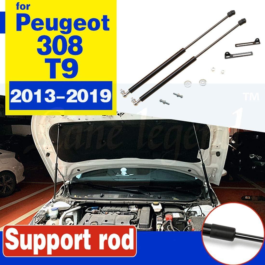 For Volkswagen VW T-ROC 2017 2018 Gas Springs Shocks Strut Bars Damper Car Styling HUAQIEMI 2Pcs Car Front Engine Hood Bonnet Lift Supports Props Rod Arm