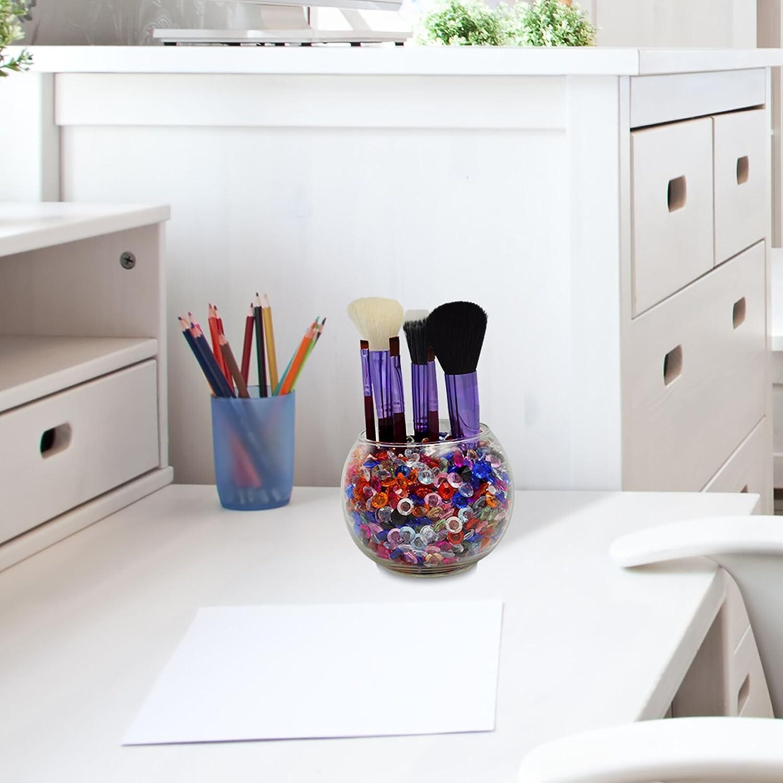 KAKOO 1000 Pcs Diamant D/écoration 10mm Acrylique Cristaux en Forme de Diamants Color/és Pour Mariage D/écorations de Table DIY Artisanat