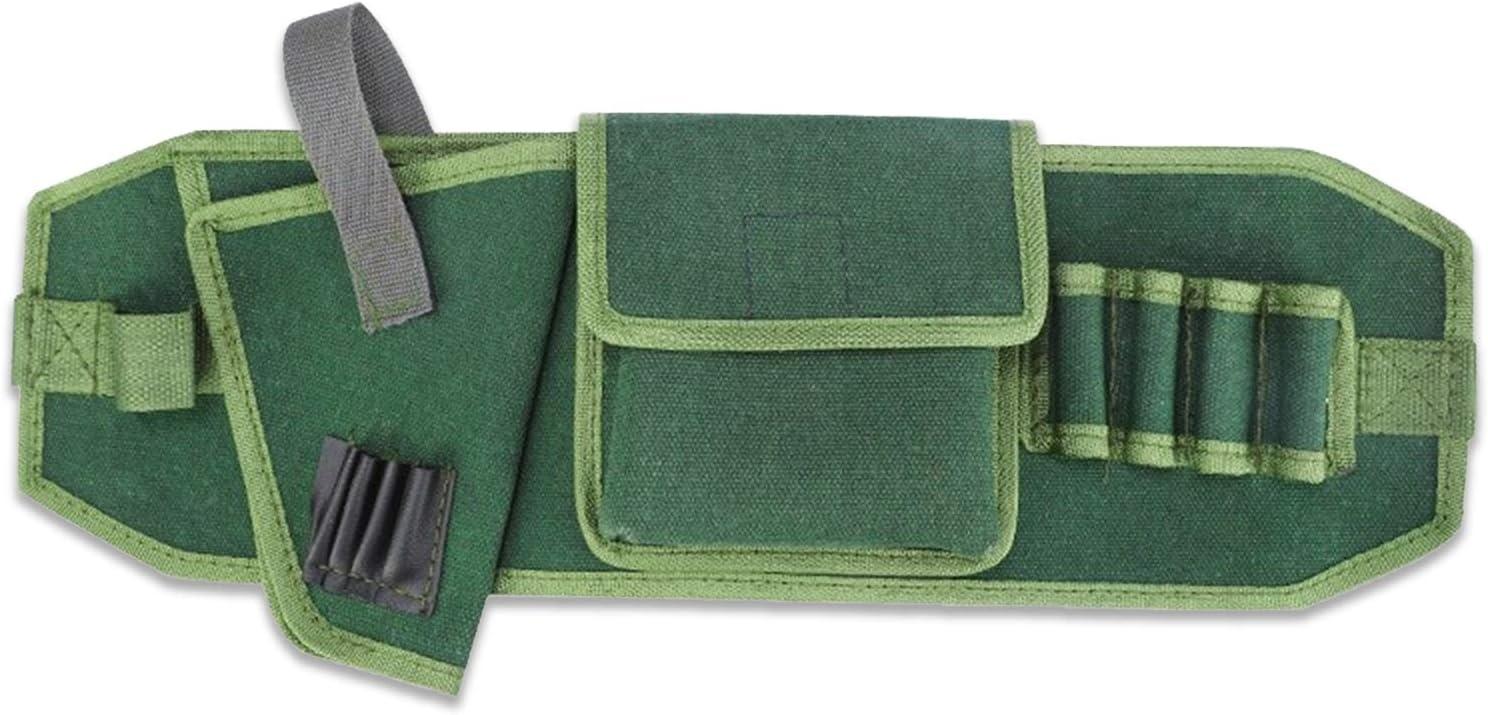 Tool Pouch for Electrician, Gardening, Construction, Carpenter, Electrician's Tool Belt, Work Apron, Waist Pouch, Bag Lid, Hammer Holder-Rope Belt, Garden Apron, Adjustable Waist Belt
