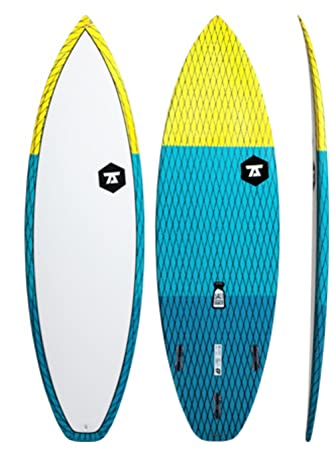 7S carbono Vector De Salero Unisex Tabla de surf/Amarillo Azul/6