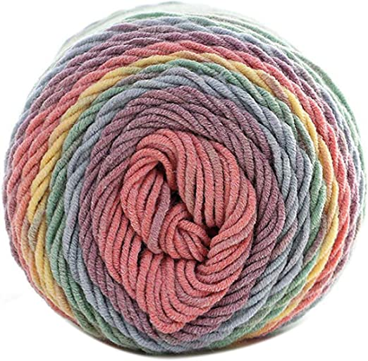 Hilo de algodón de seda suave natural para tejer bufandas, tejer ...