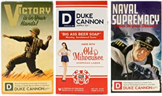 product image for Duke Cannon Supply Co. - Big Ass Brick of Soap Variety Gift Set (3 Pack of 10 oz) Superior Grade Bar Soap Designed for Hardworking Men That HonorsMilitary Heritage
