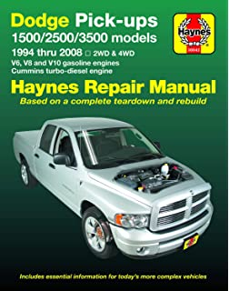 Dodge Pick Ups 2002 2008 Chilton S Total Car Care Repair Manual Chilton 9781563927638 Amazon Com Books