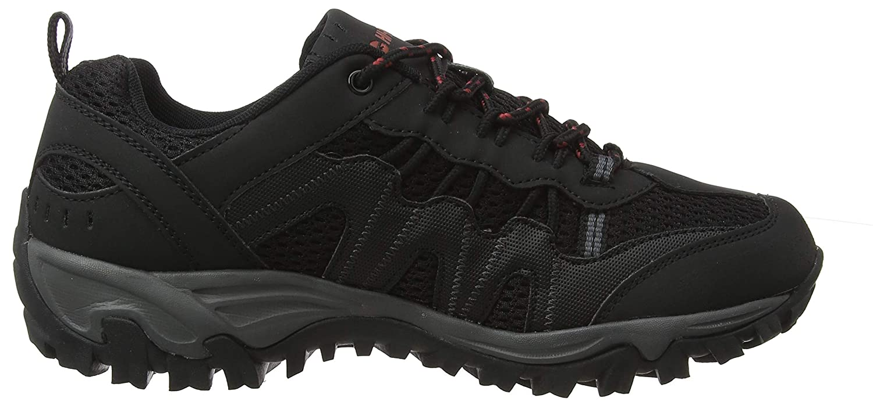 Zapatillas de Senderismo para Hombre Black//Picante 21 Hi-Tec Jaguar 43 EU Negro
