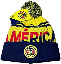 Club America Authentic Official Licensed Product Soccer Beanie - 03-4