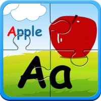 Preschool alphabet kids ABC puzzles and flashcards - free english learning games