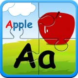 flash card app - Preschool alphabet kids ABC puzzles and flashcards - free english learning games