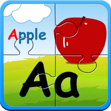 Preschool Alphabet Kids ABC Puzzles And Flashcards
