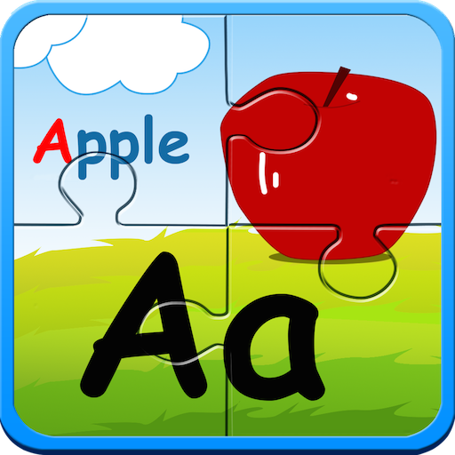 amazoncom preschool alphabet kids abc puzzles and flashcards free english learning games appstore for android - Alphabet Pictures For Kids