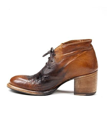 Womens Veneto Leather Closed Toe Ankle Fashion Boots