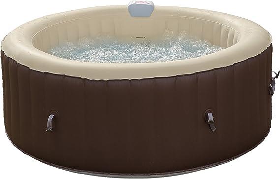 Jbay.Zone 7150017 bañera Jacuzzi Hinchable eléctrica, 800 Liters, Negro, 180 x 180 x 65 cm: Amazon.es: Jardín