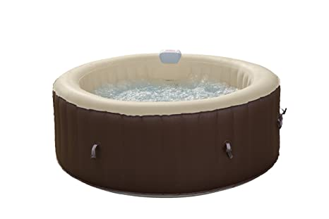 Comprar Jacuzzi Hinchable.Jbay Zone 7150017 Banera Jacuzzi Hinchable Electrica 800 Liters Negro 180 X 180 X 65 Cm