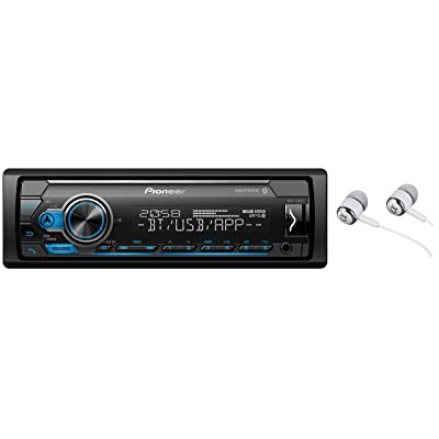 Pioneer In-Dash Built-In Bluetooth, Media Player Front USB Auxiliary, MP3, Pandora, AM/FM Radio, Built In iPod, iPhone, and iPad Controls, Arc Phone App Car Stereo Receiver: Car Electronics