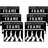 "Studio 500 LP & Album Frame Cover - Made to Display LP and Album Covers 12.5"" x 12.5"" - Hardware for Hanging Installed and No Assembly Required - Simple to Use LP & Album Frame Cover, 6-pack"