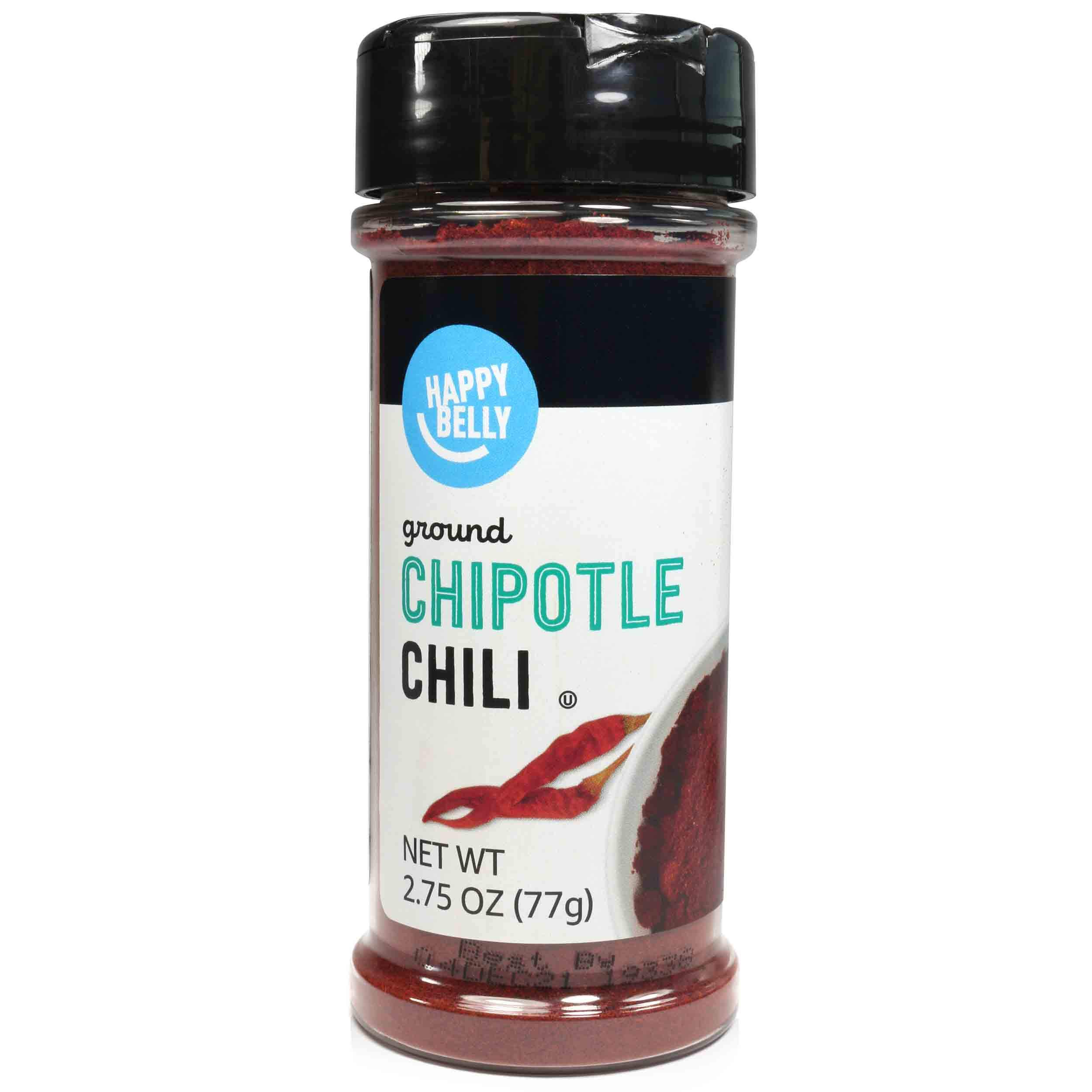 Amazon Brand - Happy Belly Chipotle Chili, Crushed, 2.75 oz