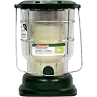Coleman Citronella Candle Outdoor Lantern (70+ Hours, 6.7 Ounce)