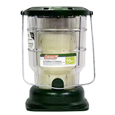 Coleman Citronella Candle Outdoor Lantern - 70+ Hours, 6.7 Ounce