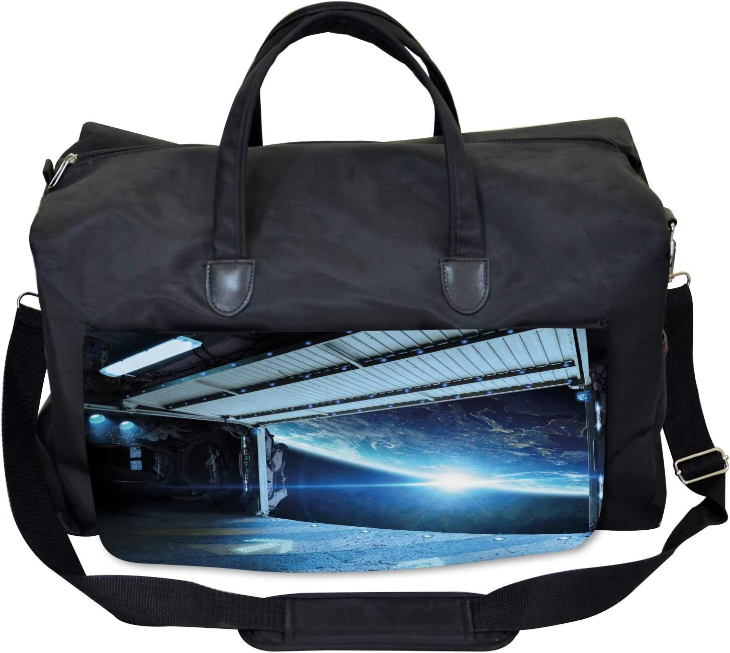 Coral Reef Aquarium Ambesonne Underwater Gym Bag Large Weekender Carry-on