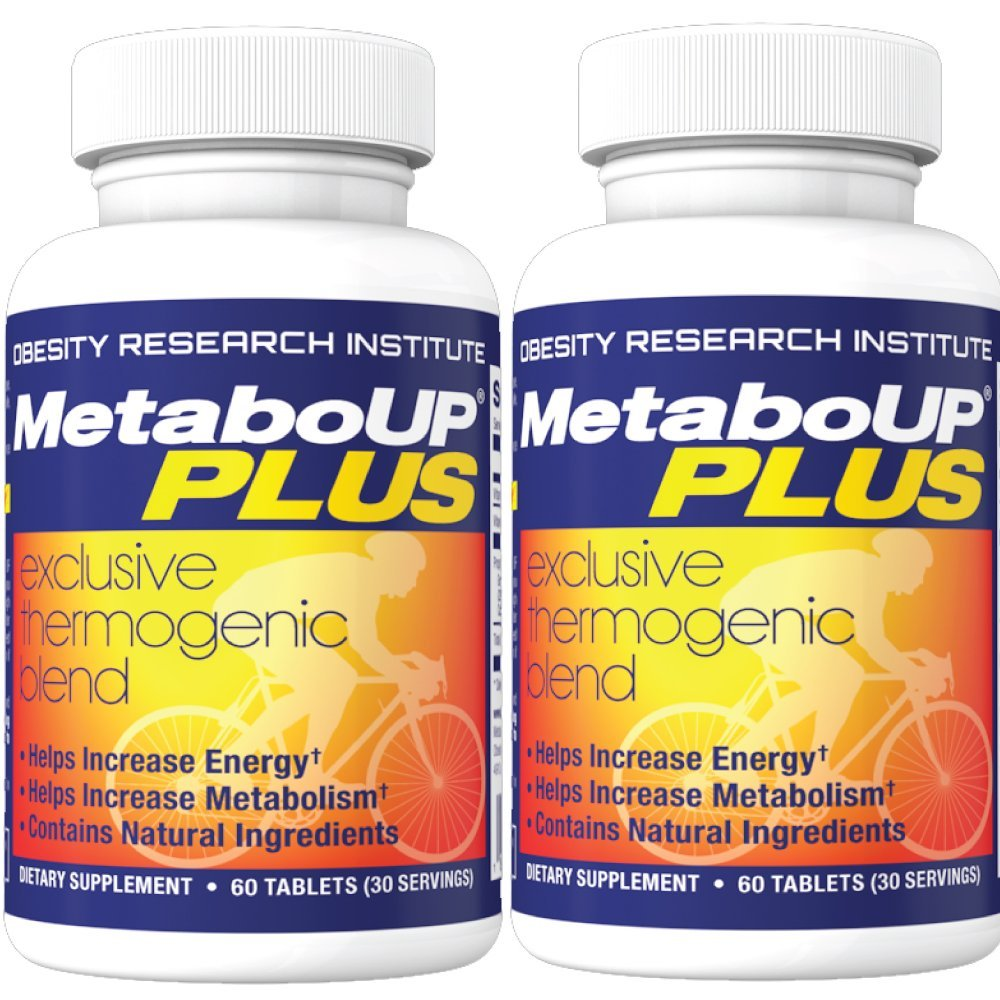Lipozene MetaboUP Plus - 2 60 Ct Bottles - Thermogenic Weight Loss Fat Burner With Green Tea and Cayenne Extract - Energy Booster Pills by Lipozene