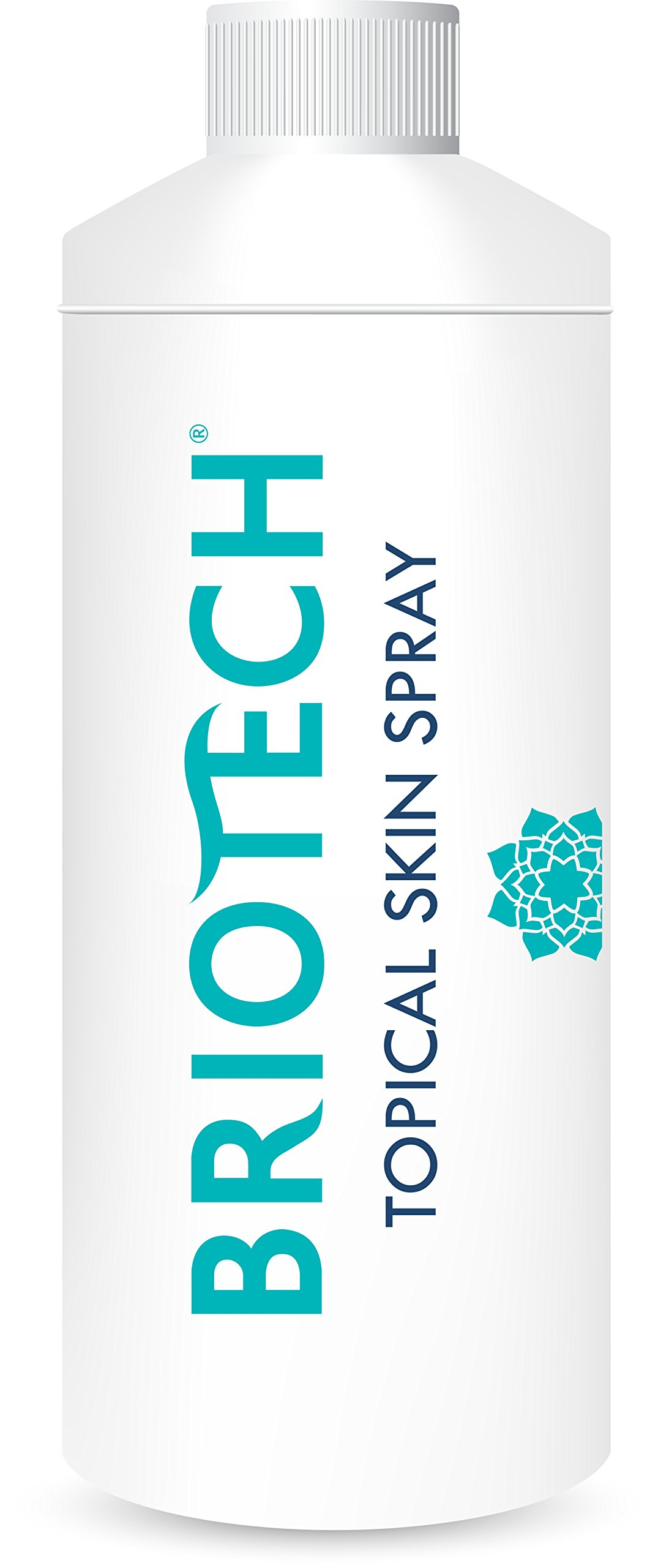BRIOTECH Topical Skin Spray - A Perfect, All Natural Cosmetic Solution | 16 oz. Refill Bottle