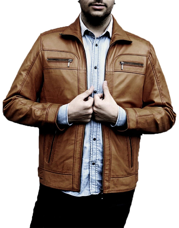 YOJAN PIEL Men's Jacket brown brown