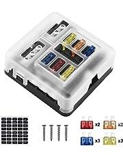 Amazon.com: Fuses & Accessories - Electrical: Automotive ... on malibu fuse box, ssr fuse box, monte carlo fuse box, silverado fuse box, g20 fuse box, tahoe fuse box, suburban fuse box, impala fuse box, cobalt fuse box, venture fuse box, equinox fuse box, chevelle fuse box, hhr fuse box, nova fuse box, uplander fuse box, trailblazer fuse box, f10 fuse box,