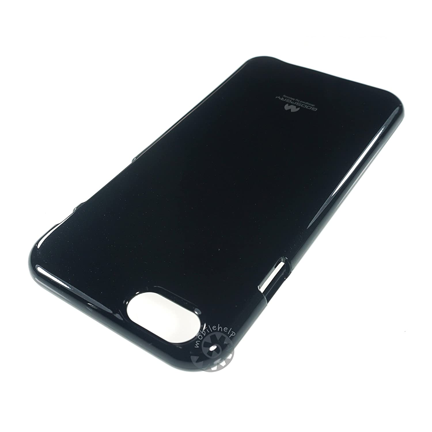 Mercury Goospery Color Pearl Jelly Case For Apple Iphone 6 47inch 6s Black Soft Shiny Tpu Cover Electronics