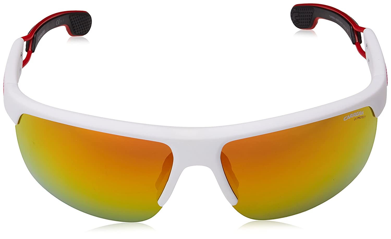 Carrera Eyewear Herren Sonnenbrille » CARRERA 4005/S«, weiß, 6HT/7F - weiß/rot