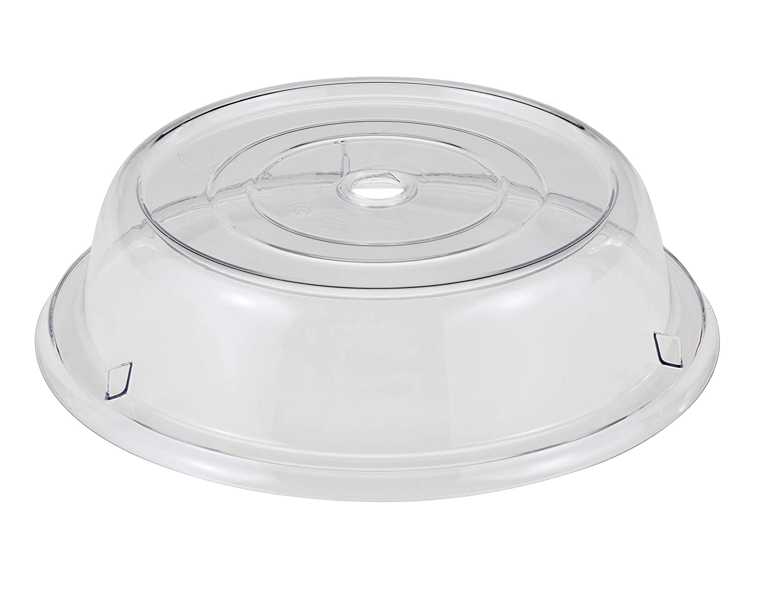 Cambro 1202CW152 Clear 12-1/8in Camwear Plate Camcover Case of 12