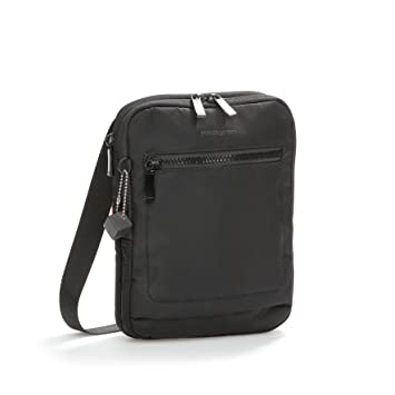 a406d64c8 Hedgren Trek Small Vertical Crossbody Bag, Slim Profile, 7 x 1.4 x 9  Inches, Unisex, Black: Amazon.in: Bags, Wallets & Luggage