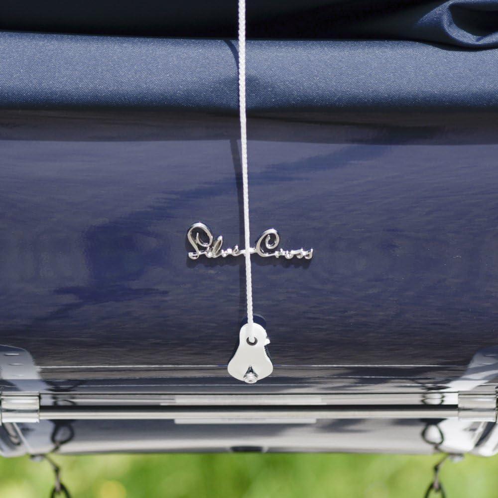 Ribbon /& Rose White//White Baby Birds Coach Built Sun Canopy