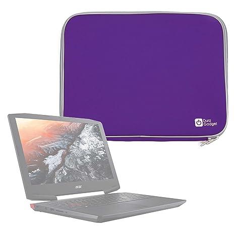 DURAGADGET Funda De Neopreno Morada para Portátil Samsung Notebook 9 Pro 2017 / Acer Aspire VX