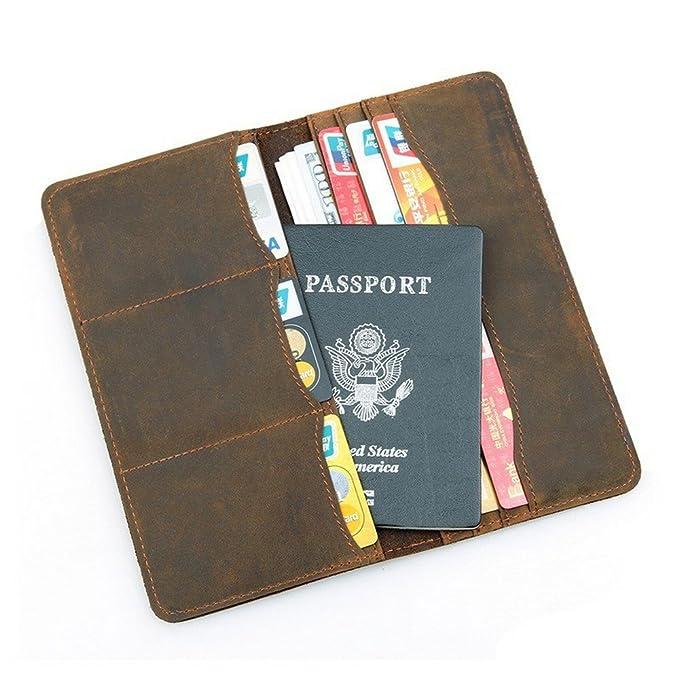611a6f3c4327 BILLETERA Genuine Leather Men's Wallet Passport Holder Wallet at ...