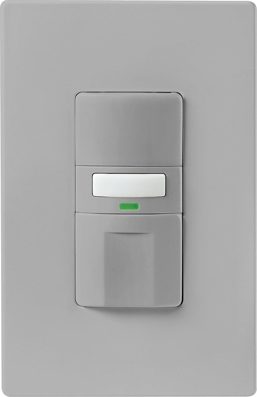 Eaton OS310U-LA-K Motion-Activated Occupancy Sensor Wall Switch, Light  Almond - - Amazon.com