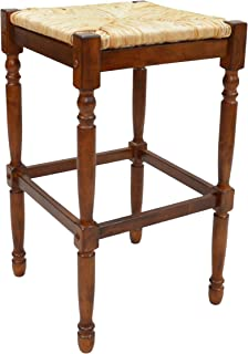 product image for Carolina Chair and Table 30-Inch Chestnut Hawthorne Bar Stool