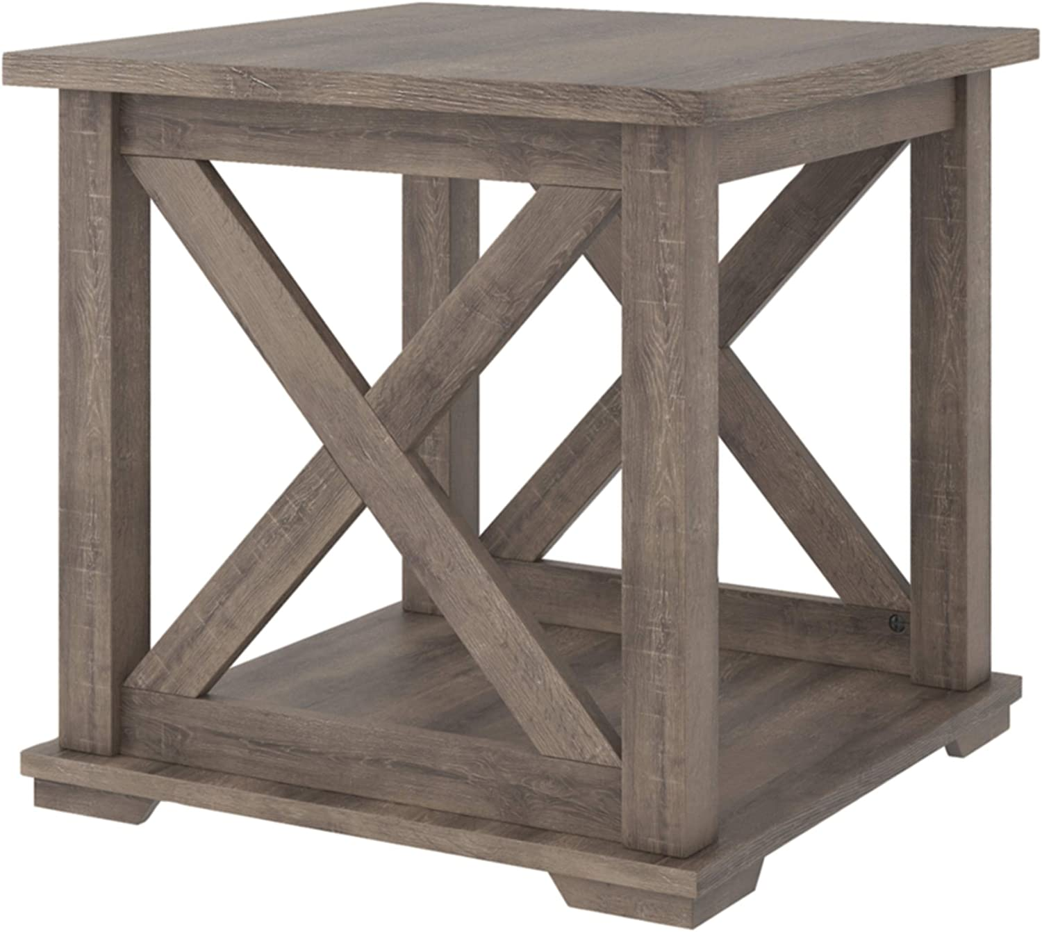 Signature Design by Ashley Arlenbry End Table, Gray
