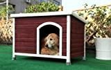 Petsfit 40.8 X 26 X 27.6 Inches Wooden Dog