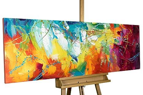 Kunstloft® Cuadro en acrílico Bright Future 150x50cm ...