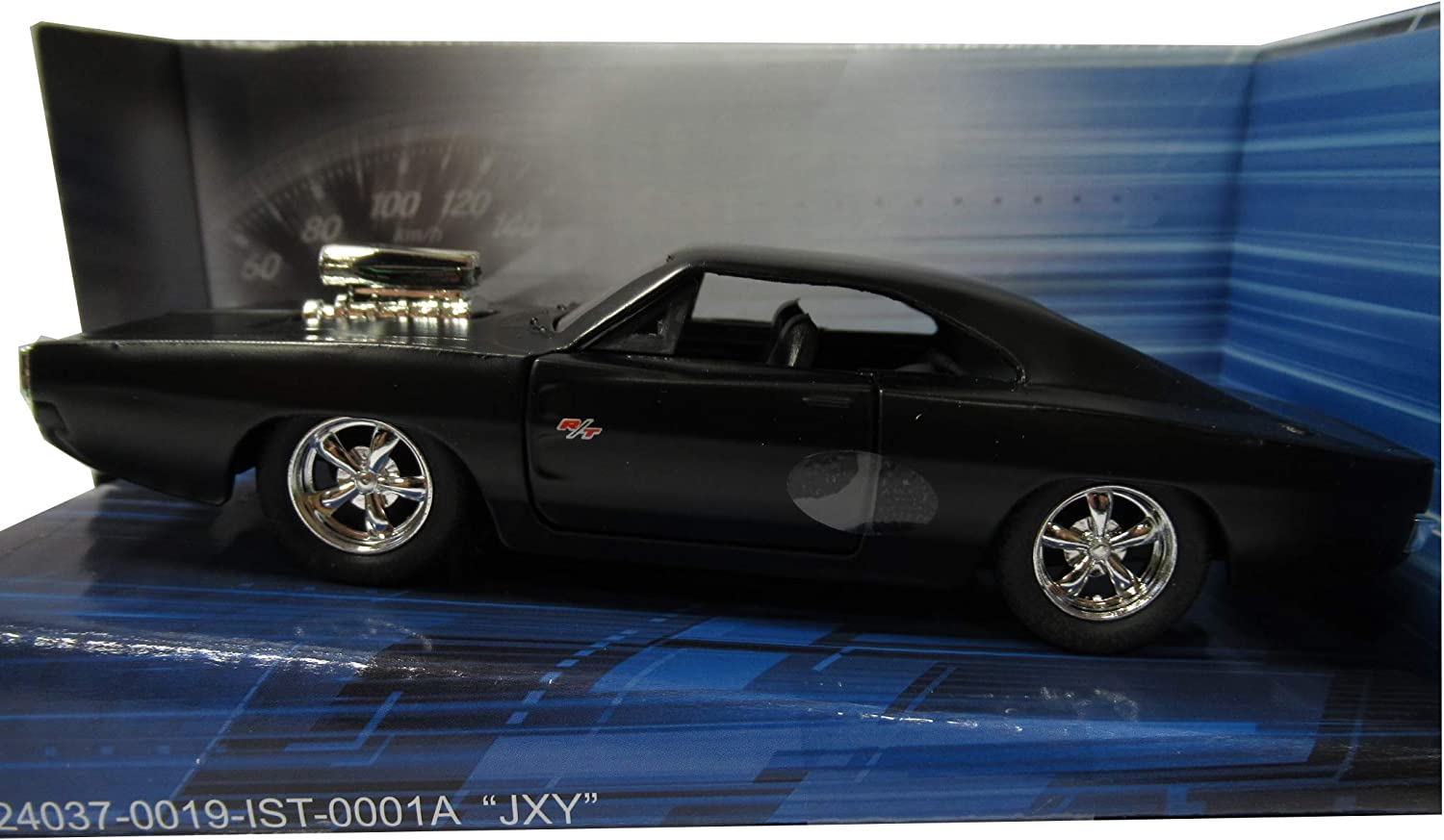Modello DieCast Dodge Charger R//T 1970 Versione Opaca dal Film Fast Furious 7 Scala 1//32 Normal Version Greenlight GL97214