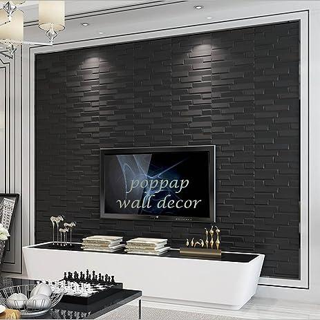 Amazon.com: 3D Wall Panels, Irregular Faux brick Foam Wallpaper ...