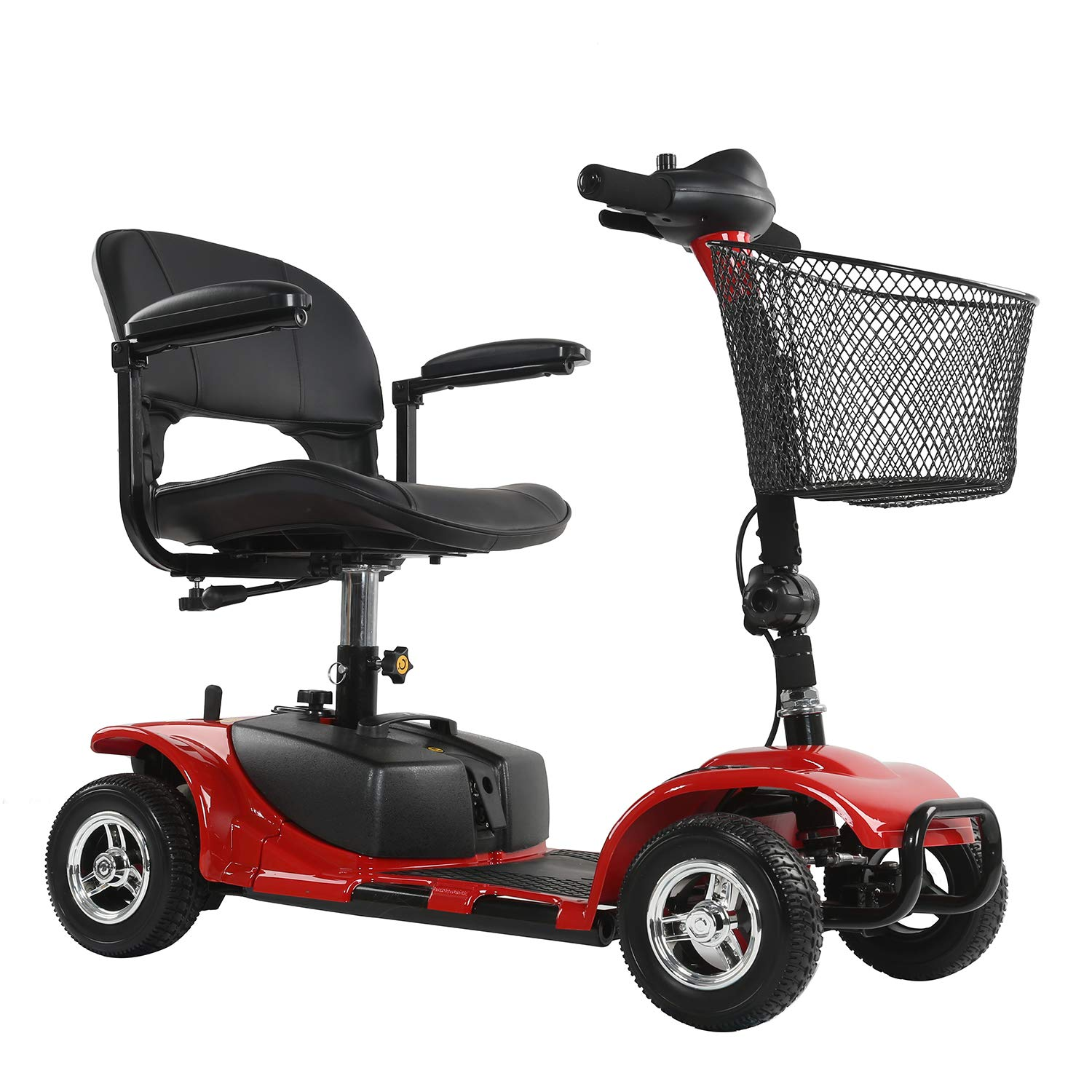 ENGWE 4 Wheels Electric Scooter for Adults Power Mobility Scooter Heavy Duty Seniors Travel Scooter by ENGWE