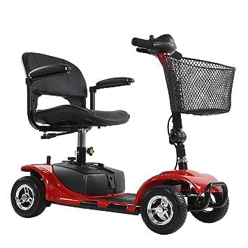 Amazon.com: ENGWE - Patinete eléctrico de 4 ruedas para ...