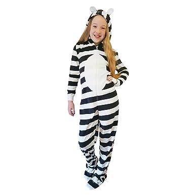 Roaster Toaster Girls Hooded Fleece All In One Piece Pyjamas Jump Sleep Suit  Onesie PJ Nightwear  Amazon.co.uk  Clothing 70a7c76fa