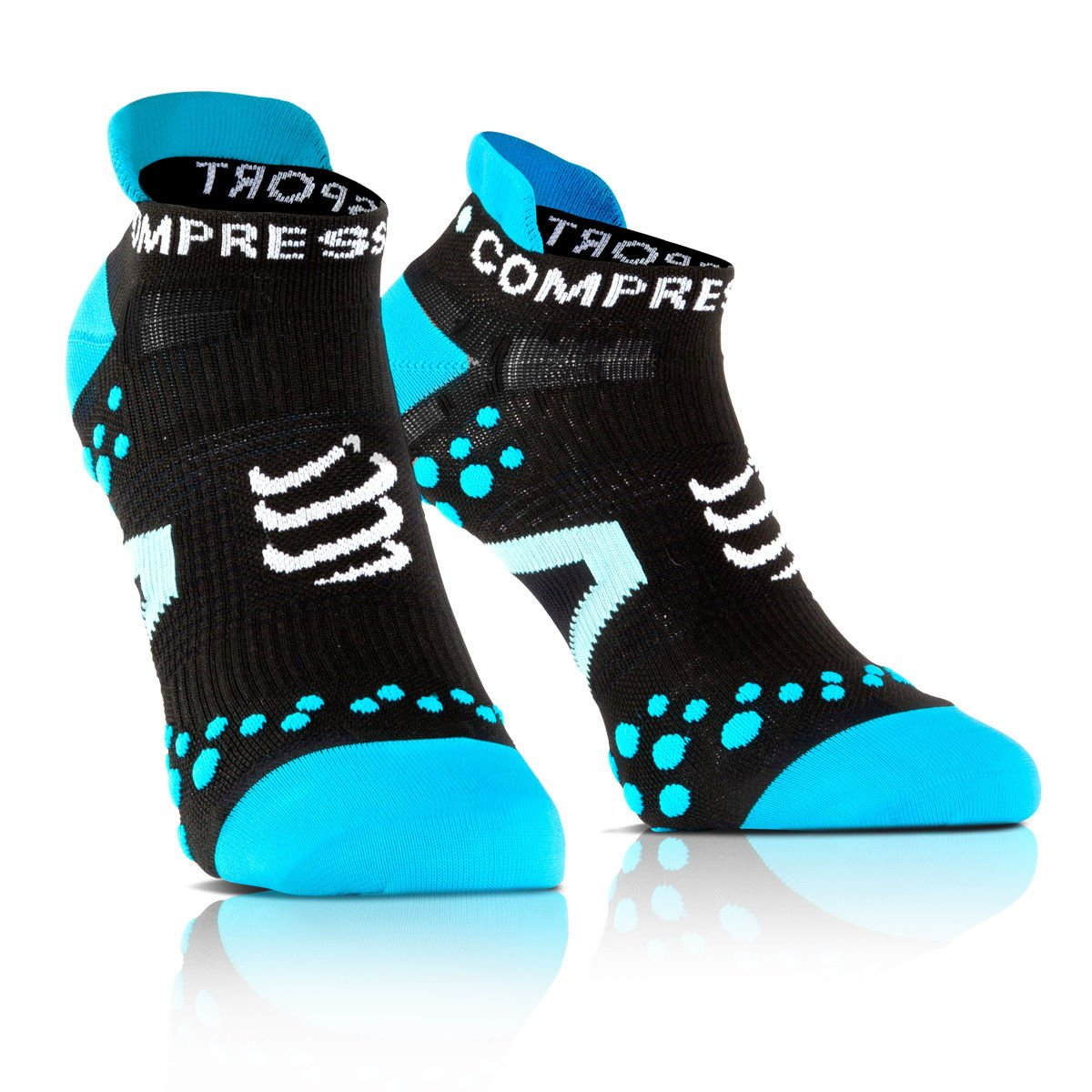 Compress port proracing Socks V2.1 Run Low Calcetines Deportivos Deportes Correr Bicicleta COMPRESSPORT