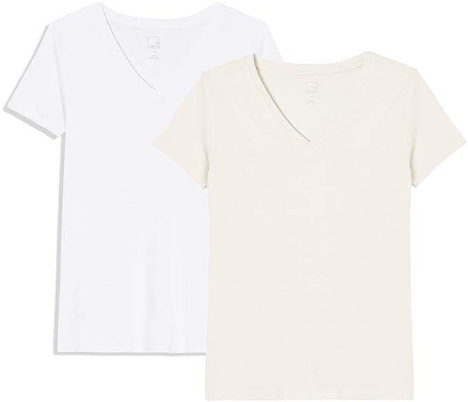 7cbb02dcbe63 MERAKI AP004 t shirt damen, 2er pack  Amazon.de  Bekleidung