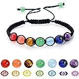 Natural Tumbled Magnetic Hematite Chakra Stones Beads Chain Bracelets SL00009